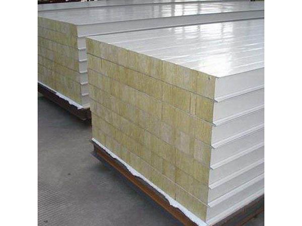 巖棉彩鋼板的主要性能